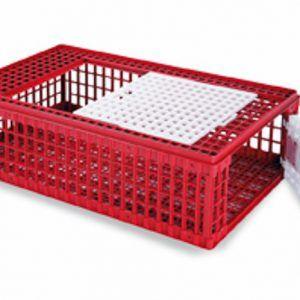 Gaun Jaula Transporte Aves Plastico
