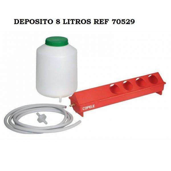 Kit Bebedero Automatico Para Aves 8 litros 70529